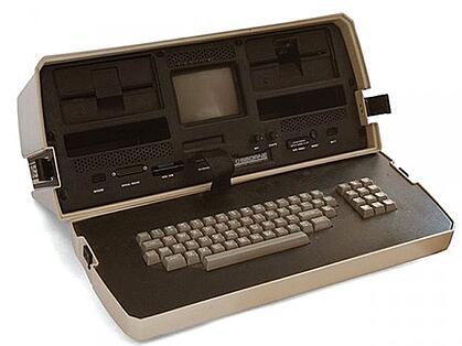 1st laptop osborne1 1981