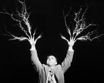 mad scientist lightning