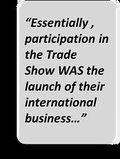international product launch